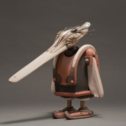 Duckbilled Bird Man